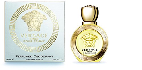 Versace Eros Pour Femme Perfumed Deodorant, 50Ml for Women Perfumes