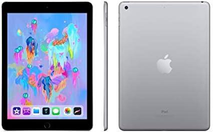 Apple iPad sixth Generation, 32GB, Wifi Only - Space Gray (Renewed)