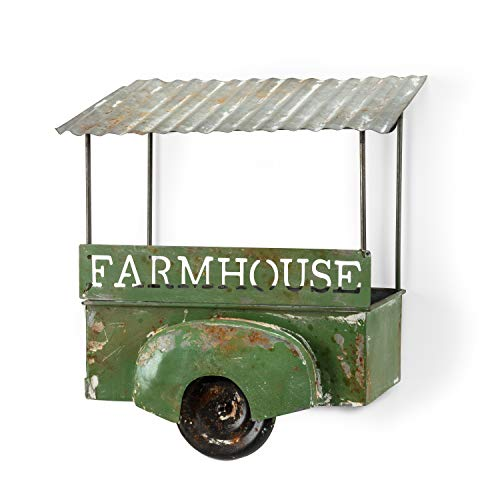 Abbott Collection 27-VINTAGE-847 Farmhouse Wagon Planter-9