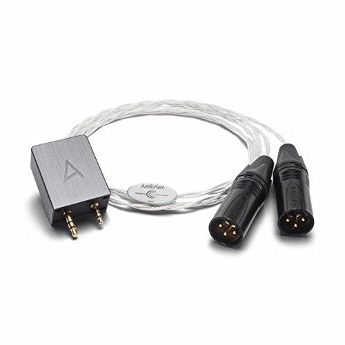 Astell & Kern pef21 – 5 ft XLRバランスケーブルbyクリスタルケーブルwith Neutrikコネクタfor ak240、ak380、ak120ii and ak100ii B0117WF1CQ