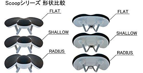 Fabric Scoop Elite Flat Saddle: Black/White by Fabric & Fabric (Image #5)