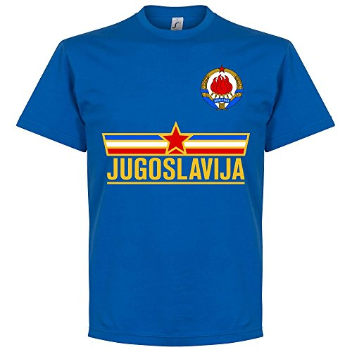 Retake Yugoslavia Team Tee - Royal - L