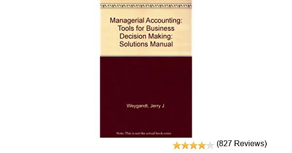 Managerial accounting jerry j weygandt donald e kieso paul d managerial accounting jerry j weygandt donald e kieso paul d kimmel 9780470174067 amazon books fandeluxe Gallery