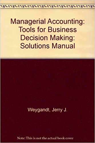Managerial accounting jerry j weygandt donald e kieso paul d managerial accounting jerry j weygandt donald e kieso paul d kimmel 9780470174067 amazon books fandeluxe Choice Image