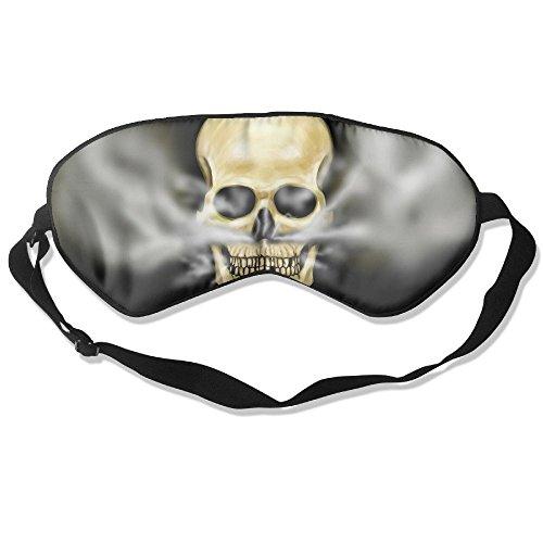 Sleep Mask Skull Smokes Hookah Eye Cover Blackout Eye Masks,Soothing Puffy Eyes,Dark Circles,Stress,Breathable Blindfold by MB32