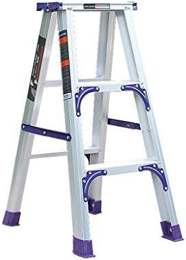 Escalera pequeña multifunción Plegable de aleación de Aluminio Gruesa for Cocina de baño de Loft Interior Liuyu. (Size : 3 Step Ladder): Amazon.es: Hogar