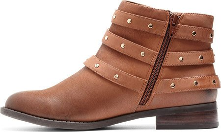 Vionic Womens Lona Ankle Boot Tan Size 5