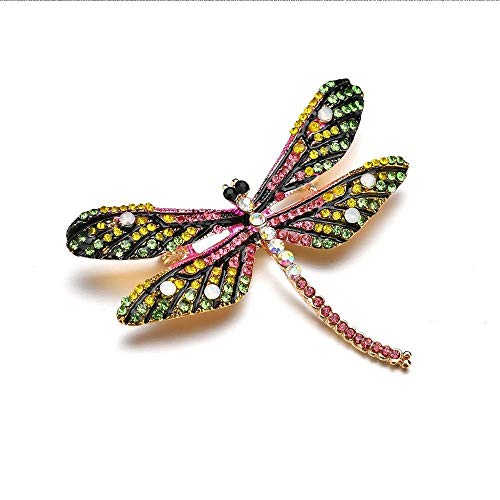 Lovely Dragonfly Women Lapel Pin Scarf Buckle Gift Brooch