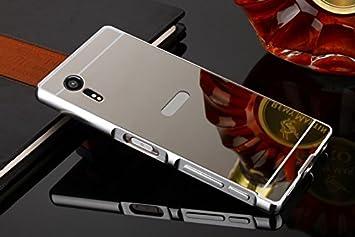321cbedd53 鏡面プレート SONY Xperia XZ SO-01J XZs ケース アルミバンパー合金フレーム XperiaXZs SO