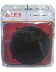 "Smv Industries TLV Vented Tank Lid, 5"", Black"