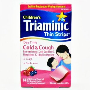 Triaminic Daytime Cold Cough Thin Strips 14 Ct B001kyvq26