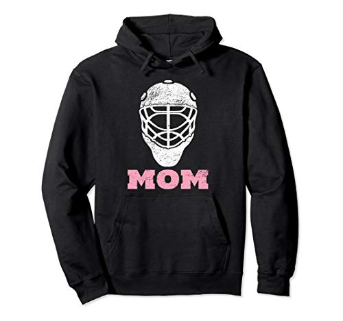 Hockey Mom Vintage Goalie Mask Hoodie Gift for Women