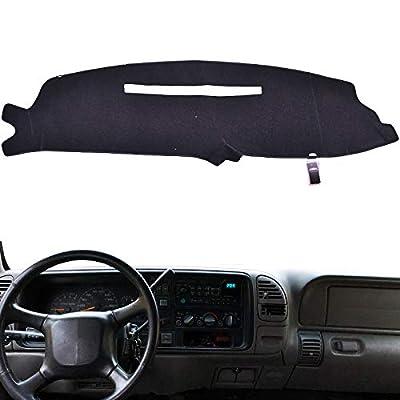 XUKEY Dashboard Cover for Chevrolet Silverado C1500 C2500 C3500 K1500 K2500 K3500 1997 1998 Dash Cover Mat: Automotive [5Bkhe0404076]