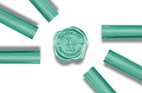 Glue Gun Sealing Wax - Teal - Pack of 6