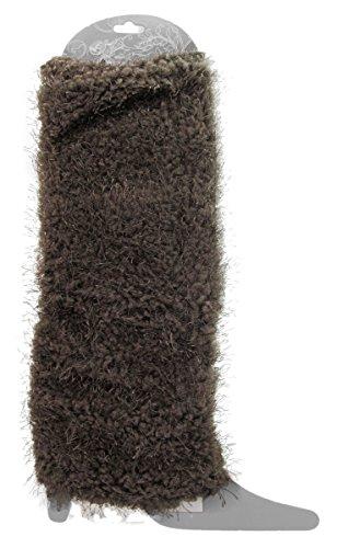 Leg Wool Acrylic Soft Women's Ann Warmer Knit Fashion Grey J Fuzzy UC0S8Twqwx