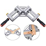 90 Degrees Clamp Quick-Jaw Right Angle for Welding, Woodworking, Photo Framing DIY Picture Photo Frame Corner, Glass Holder