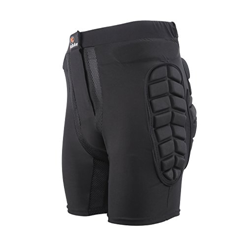 Ridibiker Bicycle Motorcycle Skiing Racing Armor Pads Hips Legs Protector Short Pants (XXL (40