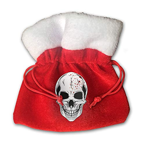 XFEQAZV Halloween Mask Clipart Personalized Bag Christmas Tradition and Nice Decorations Bags