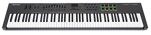 Nektar Impact LX88+) (Best 88 Key Midi Keyboard)