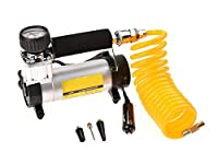 Cosway Portable DC 12V Tire Inflator Pump Air Compressor For Various Automobile Tyres and Inflating Equipments, US Stock