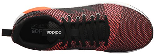 adidas Men's Questar BYD Running Shoe, Black/White/Solar red, 7 M US by adidas (Image #8)