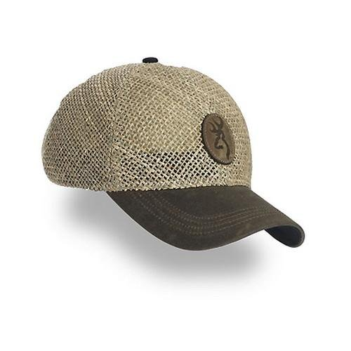 Browning Straw with Repeltex Brim, Brown, Semi-Fitted