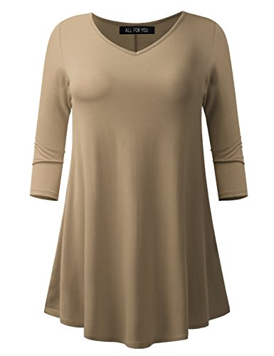 V-neck Knit Tunic - 7