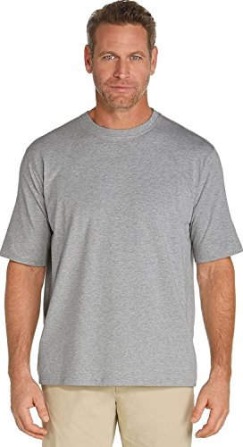 Coolibar UPF 50+ Men s Short Sleeve Everyday T-Shirt - Sun Protective (Small 6f903cd9c