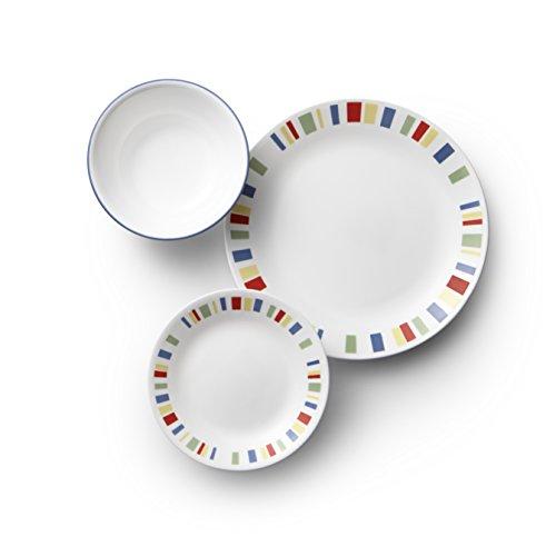 Corelle 1134336 Dinnerware Set 18-Piece Memphis
