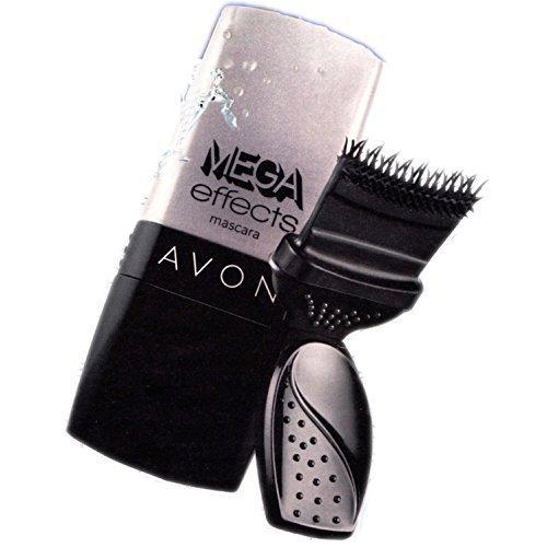 Mega Effects wasserfester Mascara Wimpernroller schwarz 9ml von Avon