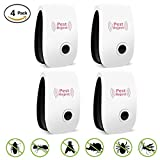 Pest Control, VSOAIR Ultrasonic Pest Repeller Electronic Plug with Night Light Repellent