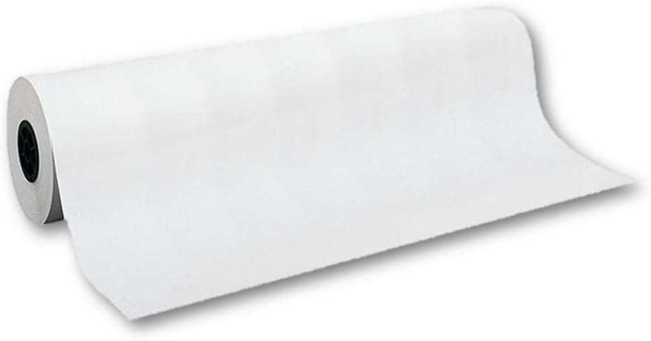 Unipapel 132165 - Rollo de papel, 1 x 10 m, color blanco: Amazon.es: Oficina y papelería