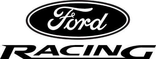 Ford Racing Decal, Decal Sticker Vinyl Car Home Truck Window Laptop