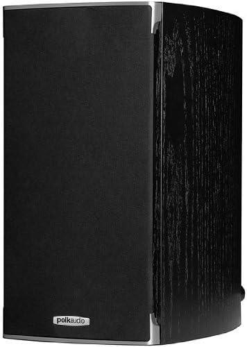 Polk Audio RTI A3 Bookshelf Speakers (Pair, Black)
