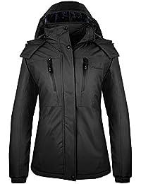 Women's Ski Jacket Basic - Winter Jacket with Elastic...