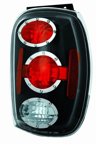 IPCW CWT-CE510ACB Crystal Eyes Bermuda Black Tail Lamp - Pair