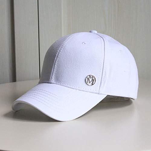 XIHUANNI Baseballmütze Big Head Man Plus Size Cotton Baseball Cap Men Summer Sun Hat Male Big Sizes Snapback Hats M 55-60Cm L 60-65Cm
