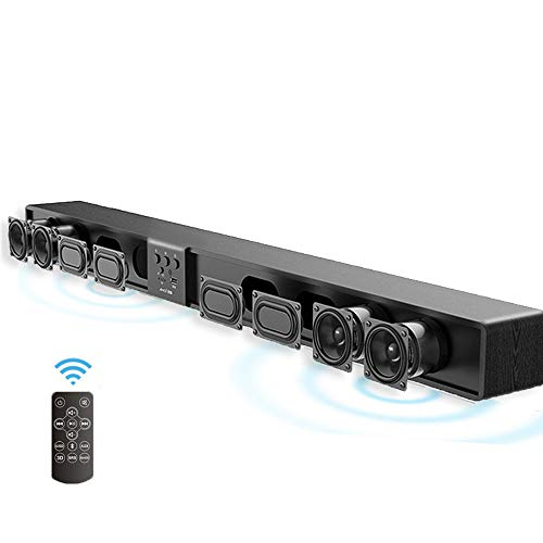SMLYYX 5.1 Channel Soundbar, 80W RMS, Bluetooth 4.0 for sale  Delivered anywhere in USA