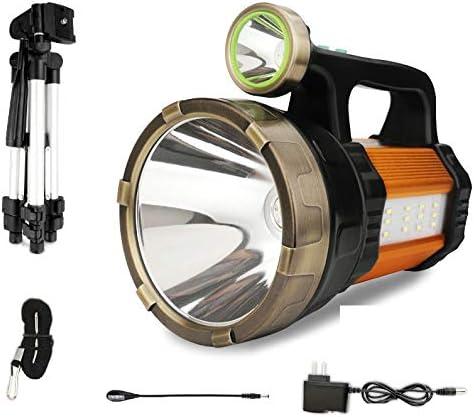 Reflector Portatil Led Reflector De Largo Alcance 5000 Recargable Remoto Al Aire Libre 1000w Linterna De Caza Amazon Es Iluminacion