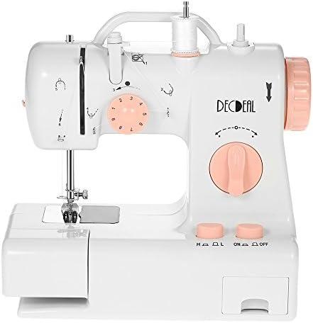 Decdeal - Máquina de coser doméstica, multifuncional, 2 ajuste de ...