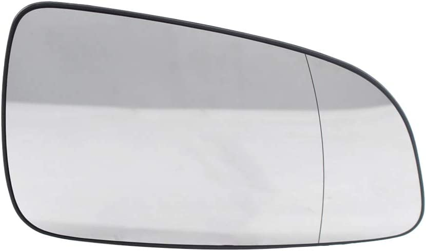 Cristal del espejo retrovisor,Tickas Cristal de espejo exterior izquierdo Cristal de espejo retrovisor 6428786 13141985 Reemplazo para OPEL ASTRA H 2004-2008
