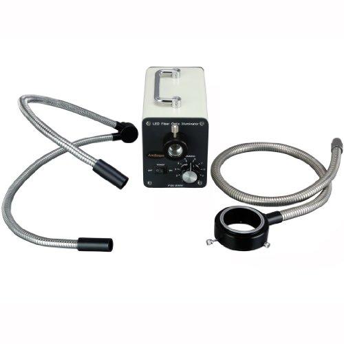AmScope LED 50WYR 50W LED Fiber Optic O Y Light Microscope I