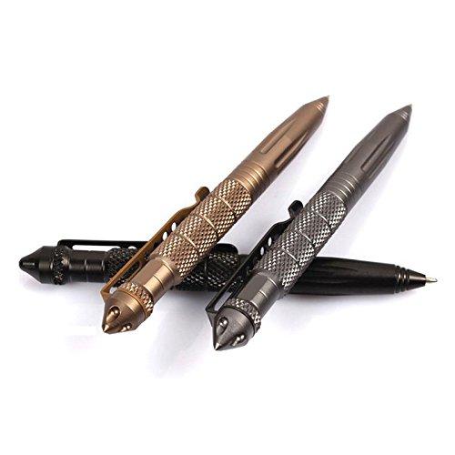 Eachbid Aircraft Aluminum Tactical Pen Self Defense Pen - Desert