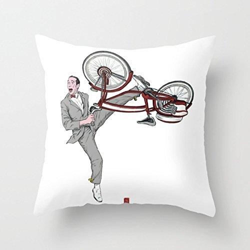 Pee Wee Herman #3 fashion design pillow case 18''x18''