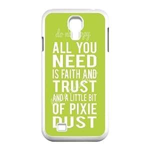 Custom Colorful Case for SamSung Galaxy S4 I9500, Faith and Trust Cover Case - HL-704896 hjbrhga1544