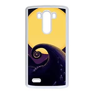LG G3 Phone Case White The Nightmare Before Christmas F6523480