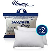 Apurva Interiors Sleepwell Umang Pillow (Pack of 2)