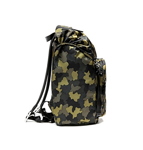 Prada Men's Top Flap Travel Backpack One Size Camouflage by Prada (Image #3)