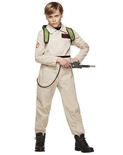 Spirit Halloween Kids Ghostbusters Boys Jumpsuit Costume - Ghostbusters Classic -