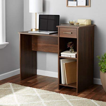 Student/Office Home Desk in Canyon Walnut